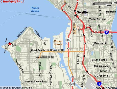 Alki Beach Seattle Map.Seattle Bicycle Club Alki Bakery